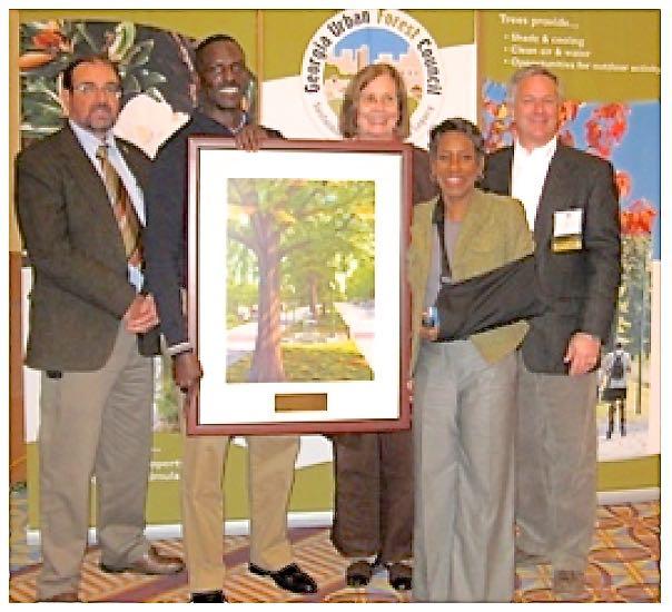 Trees Alive GUFC Award w CC